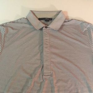 Men's RLX Ralph Lauren striped polo size large